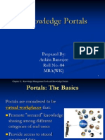 Knowledge Portals PPT