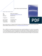 Evaluation of Gas Turbine Rotor Dynamic Analysis Using the Finite Element Method 2012