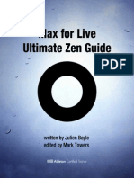 Max for Live Ultimate Zen Guide Sample