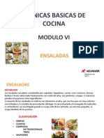 Modulo Vi - Las Ensaladas