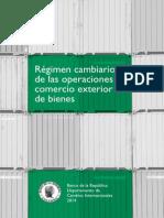 Cartilla Régimen Cambiario y Comercio Ext 2014