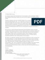 coleman recommendation letter
