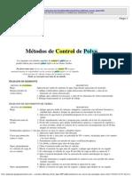 Métodos de Control de Polvo
