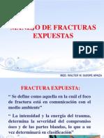 FRACTURA EXPUESTA
