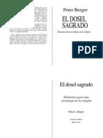 58467432 Berger El Dosel Sagrado