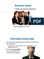 Chapter 6 Affirmative Action