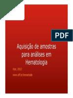 Coleta Hematologia
