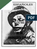 Los Españoles en La Liberacion de Paris.