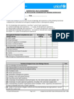 Annex B - Self Assessment Form Sept7