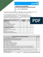 Annex B - Self Assessment Form Sept7[1]