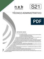 Fjpf 2006 Conab Tecnico Administrativo Prova