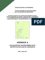 Apendice a Evaluacion Peligro Sismico Sjl