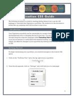 Digication Custom CSS Guide