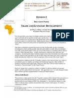 Trade & Economic Development Discussion Paper