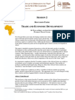 Trade & Economic Development Discussion Paper