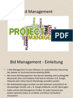 Bid Management Informations