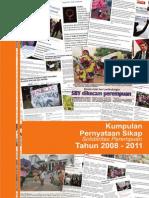 Buku Kumpulan Pernyataan Sikap