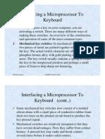 Interfacing the Keyboard