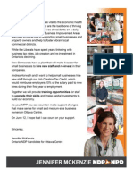 Jennifer McKenzie_Small Business Letter_1 Page