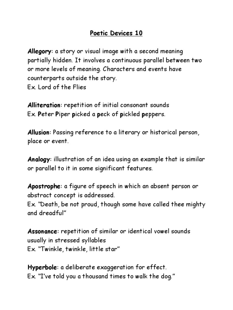 10 Examples Of Allusion Figure Of Speech
