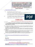 20140607-G. H .Schorel-Hlavka O.W.B. to Speaker Christine Fyffe-COMPLAINT-etc