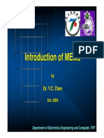(1)Introduction of MEMs