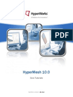 HyperMesh 10.0 Core Tutorials