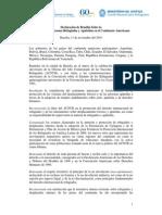 Declaracion Brasilia