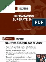 Presentacion Superate Con El Saber 2014-3