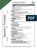 7 Contenido Temático Exani-II-2013- Ingeniería y Tecnología