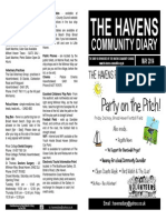 The Havens Community Diary May 2014