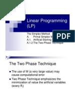 Linier Programing