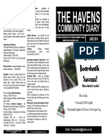The Havens Community Diary June 2014