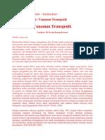 Peranan Taksonomi transgenik