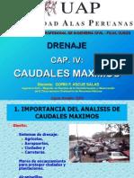 hidrologia CAUDALES MAXIMOS