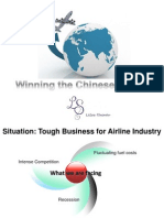 strategic presentation for airline companies
