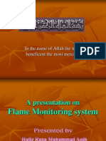 Flame Monitoring System by Aqib