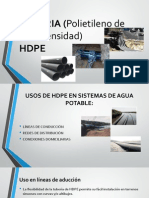 DIAPOS TUBERIA (Polietileno de Alta Densidad) HDPE.pptx