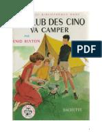 35777357 Blyton Enid 7 Le Club Des Cinq Va Camper