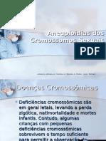 Síndromes de Aneuploidias dos Cromossomos Sexuais
