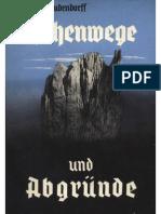 Ludendorff, Mathilde - Höhenwege Und Abgründe; Ludendorffs Verlag,