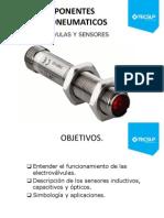 Electrovalvulas y Sensores
