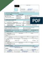 Ejemplo FUE Licencia