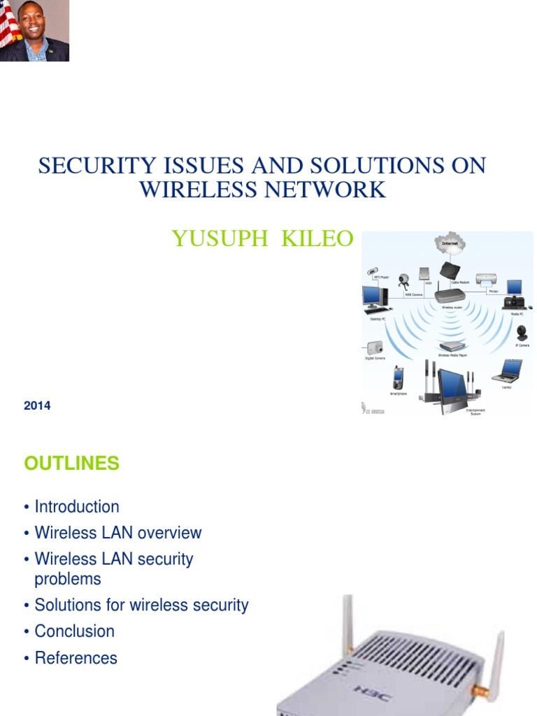Wireless Network Security Issues Lan Computer Diagram