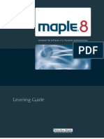 Maple Learningguide