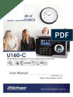 U160C 001 User Manual