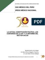 b. La Actual Constitución Política, Los Convenios de La Oit y La Reforma Del Sector Salud