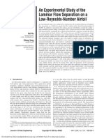 An Experimental Study of the