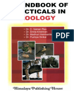 Handbook of Practicals in Zoology