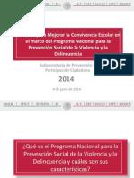 Acciones Para Mejorar La Convivencia Escolar. SPPC. 4 de Junio Del 2014
